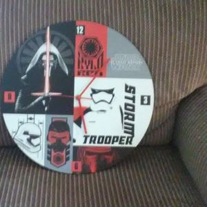 Battery Powered 'Star Wars' Clock